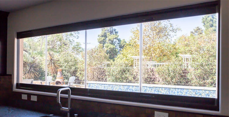 kitchen frameless glass